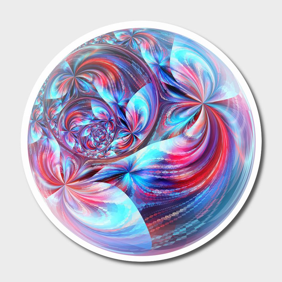 Fractal circle III / LE