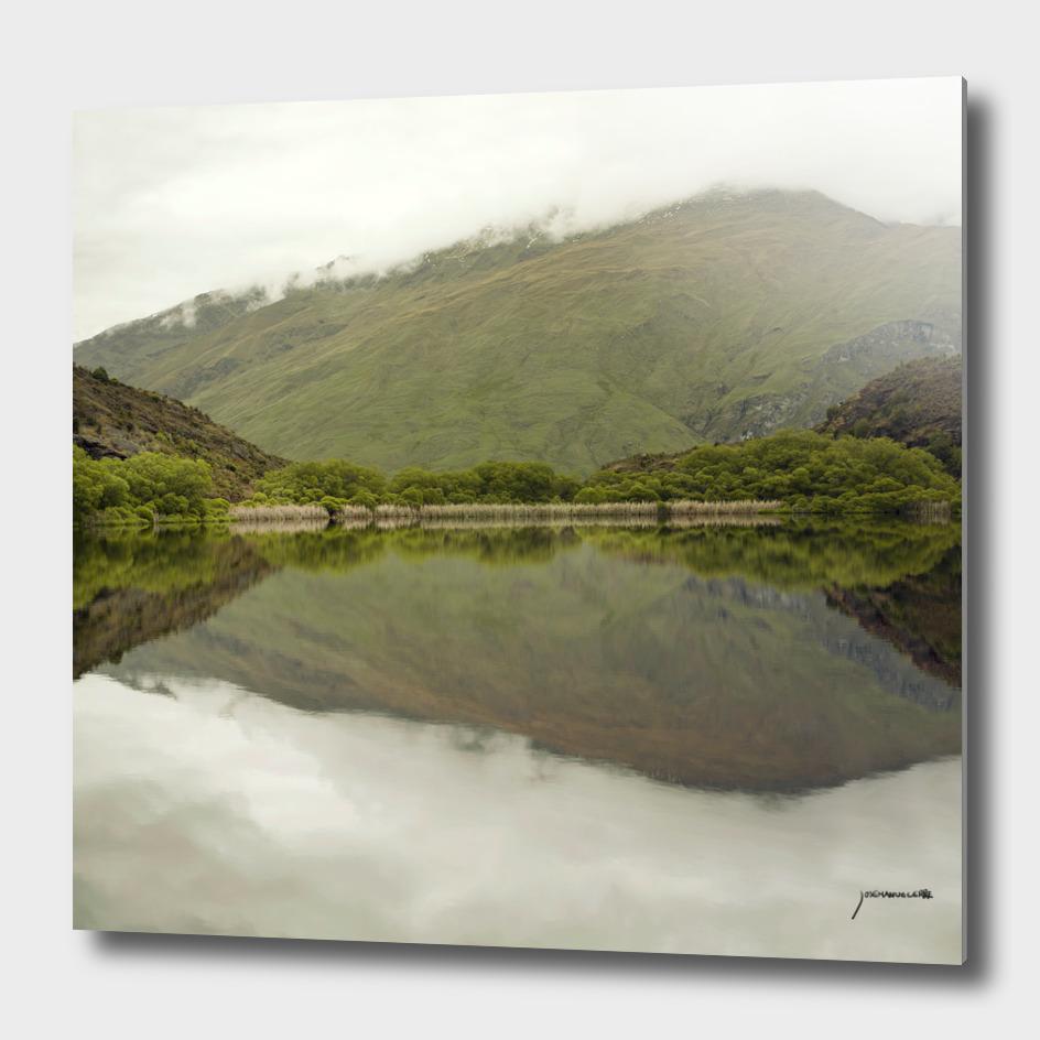 Reflections from Diamond Lake