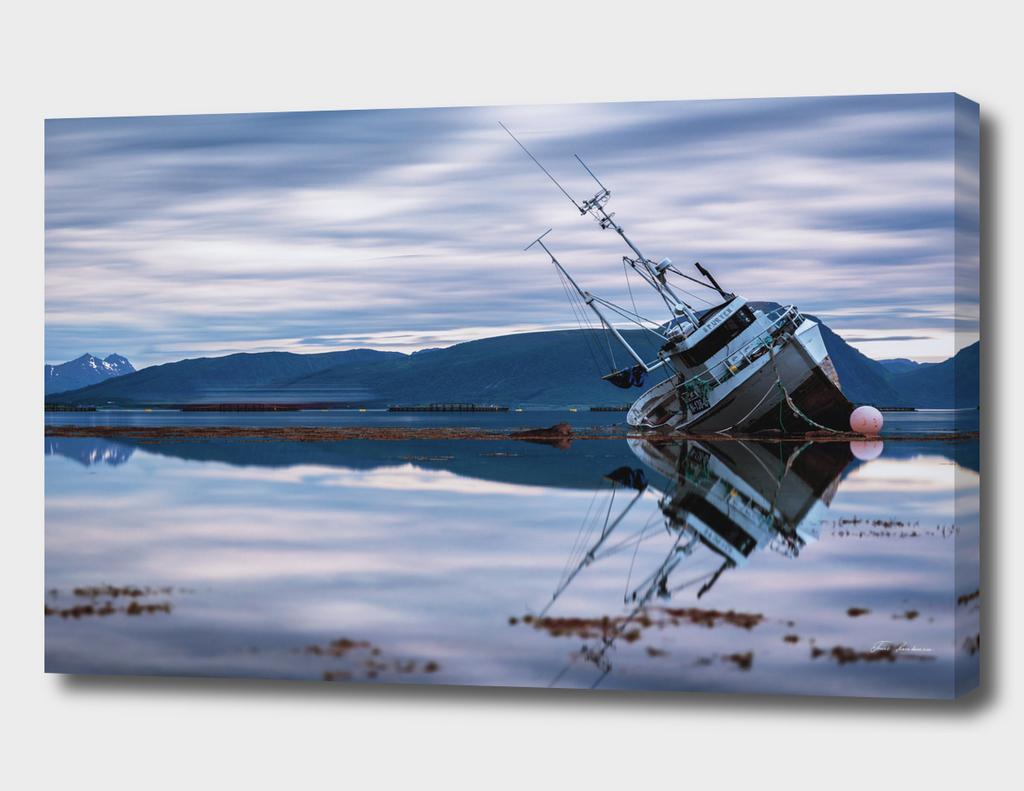 Shipwreck in Lofoten