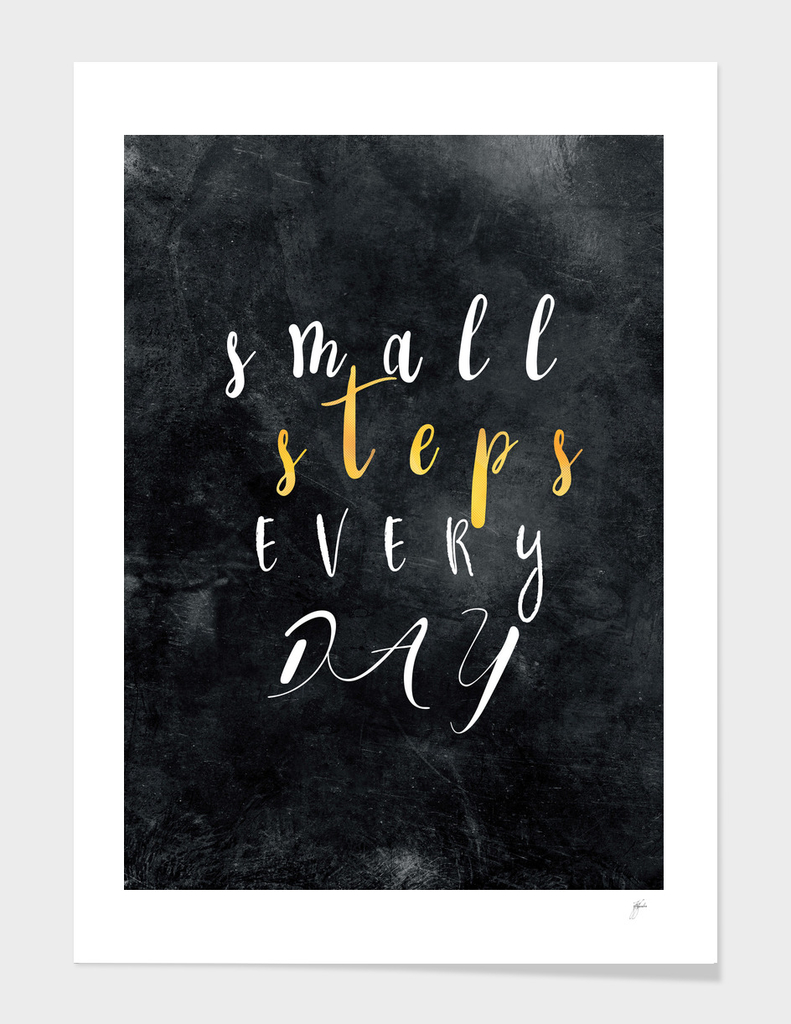 Small Steps Every Day #motivation #quotes