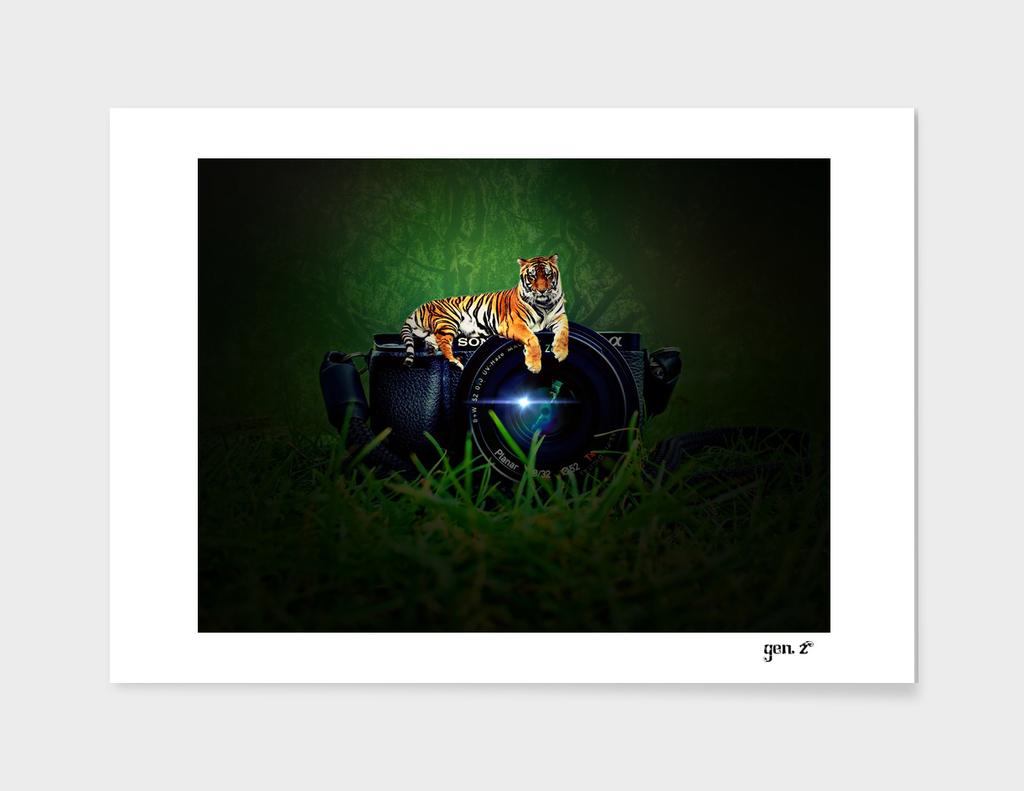 Tiger Camera by GEN Z