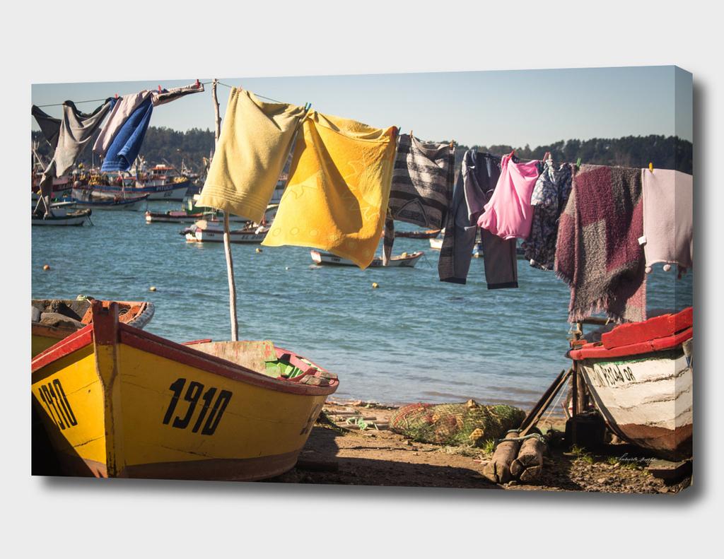 Boats and pants