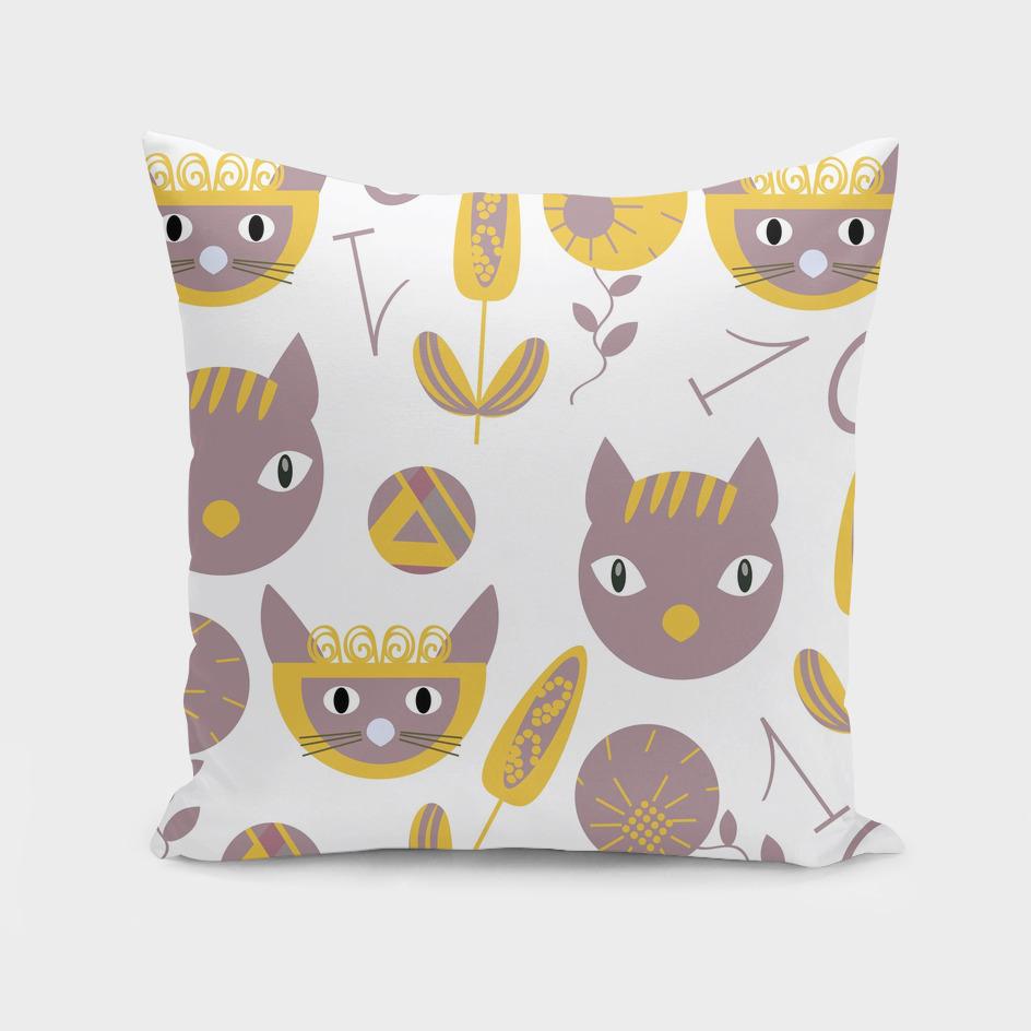 Cats pattern 3