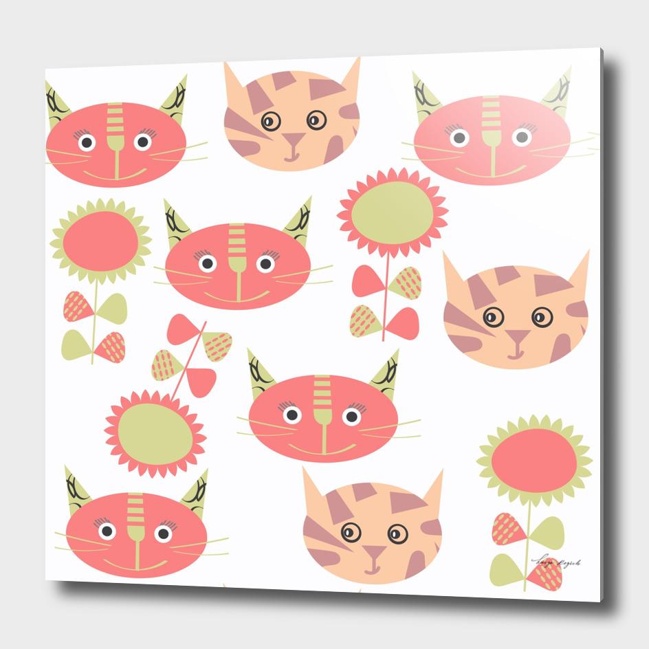 Cats pattern 4