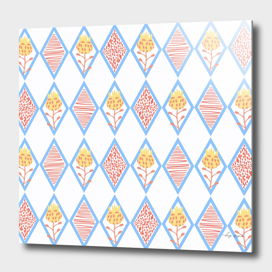 Floral pattern 779