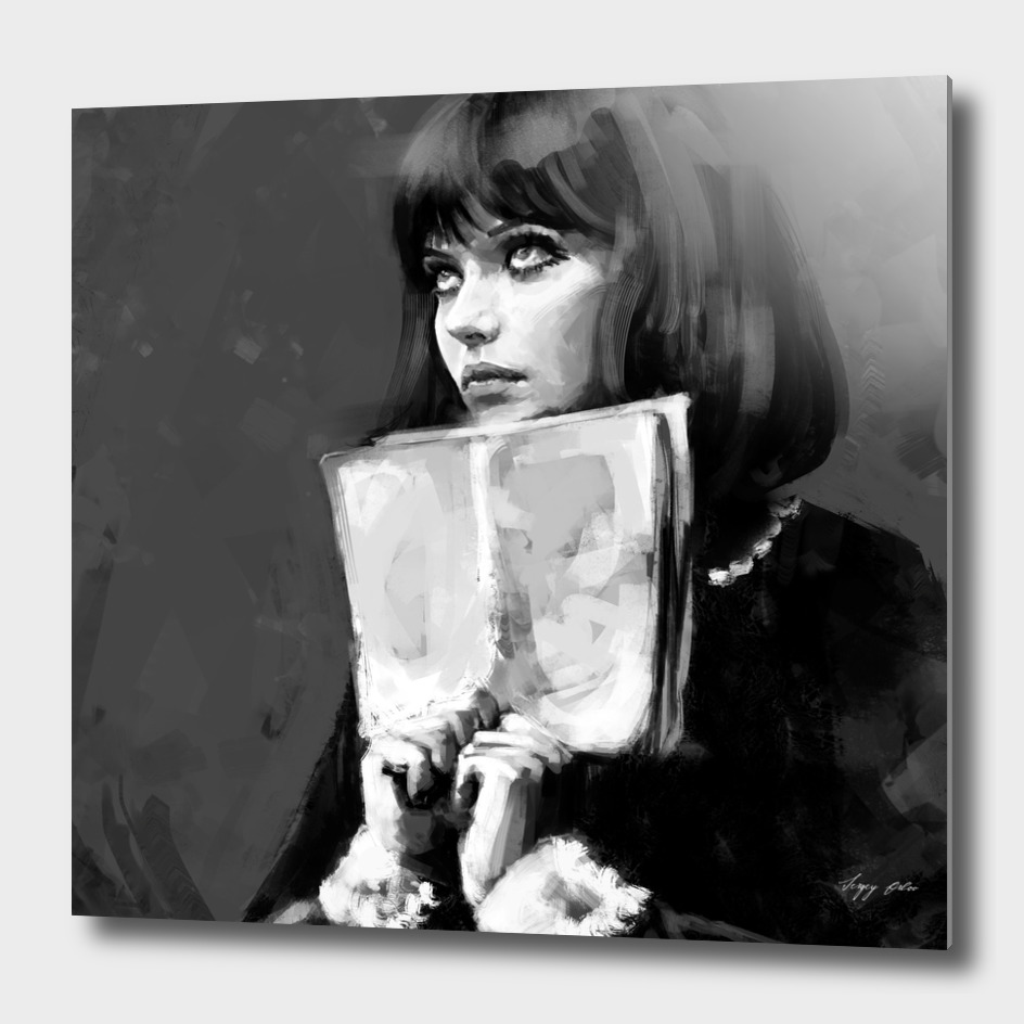 Anna Karina ( Alphaville 1965 )