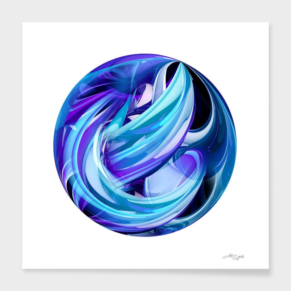 Fractal circle IV / EE
