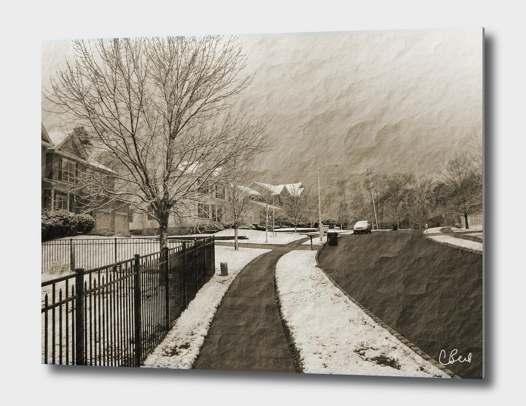 Vintage Snow Day