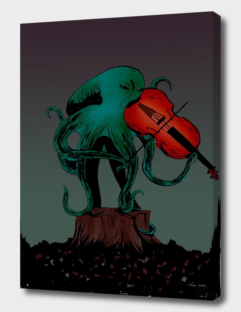 Violinist octopus