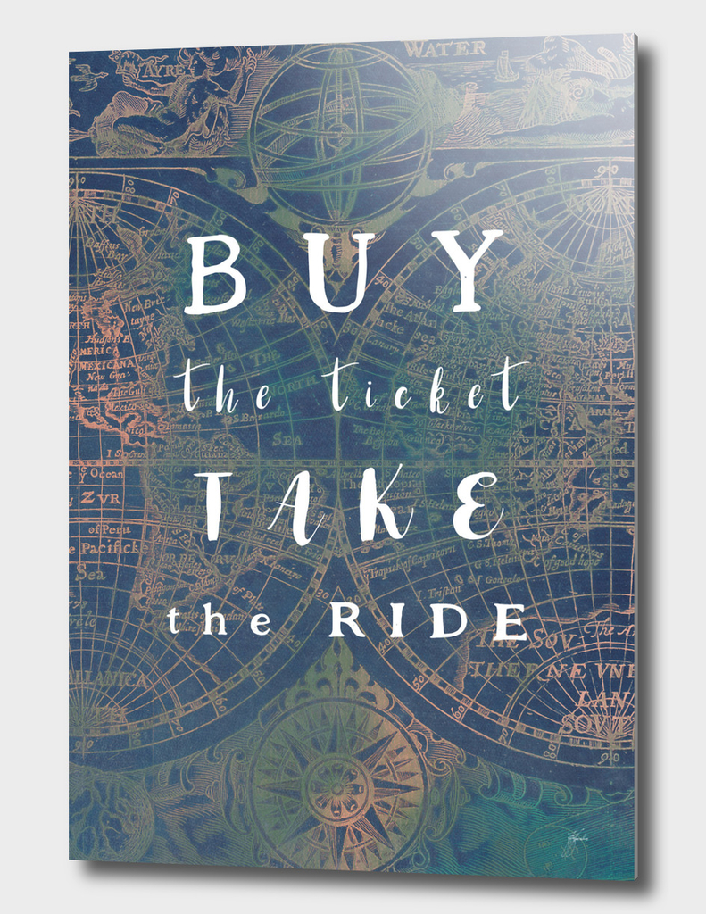 Buy the ticket take the ride #motivation #quotes