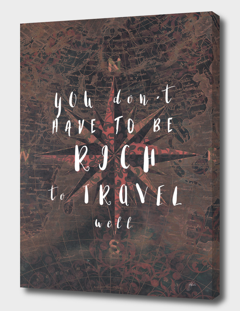 You dont have to be rich to travel well #motivation #quotes