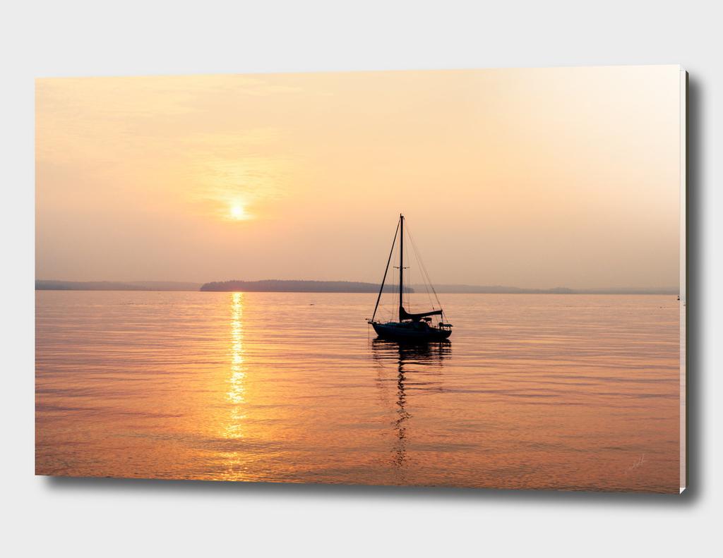 Anchored Off Shore
