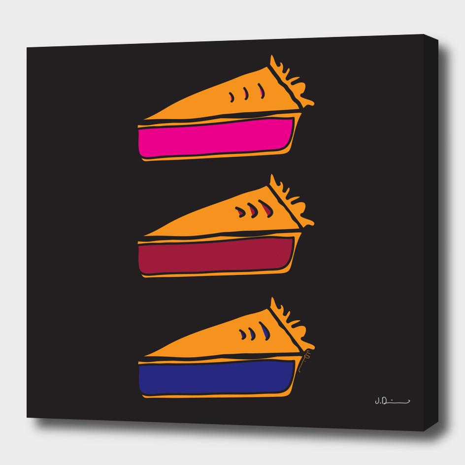 3 Pies - Original/Black