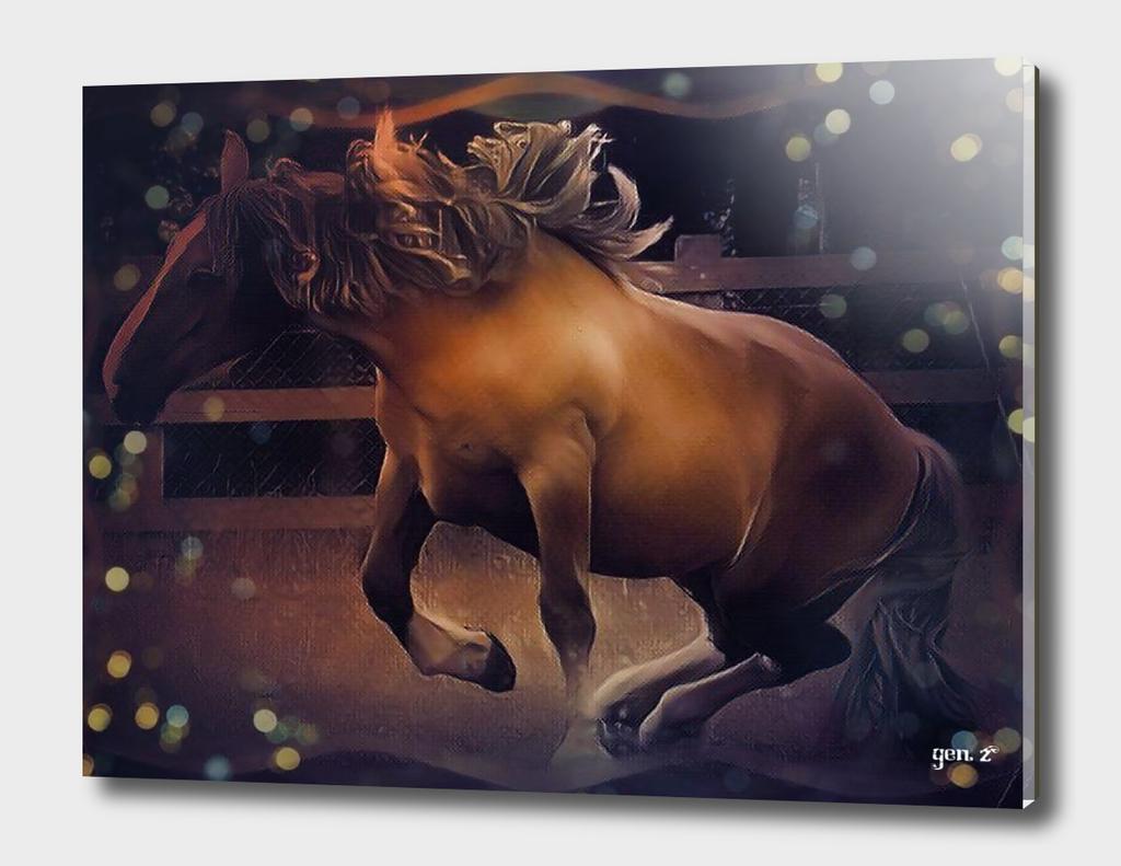 Postier Breton (horse) by GEN Z