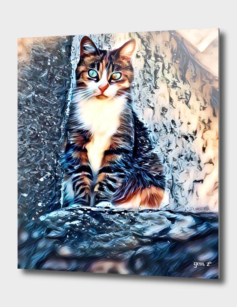 Le Chat d'Alain (cat) by GEN Z