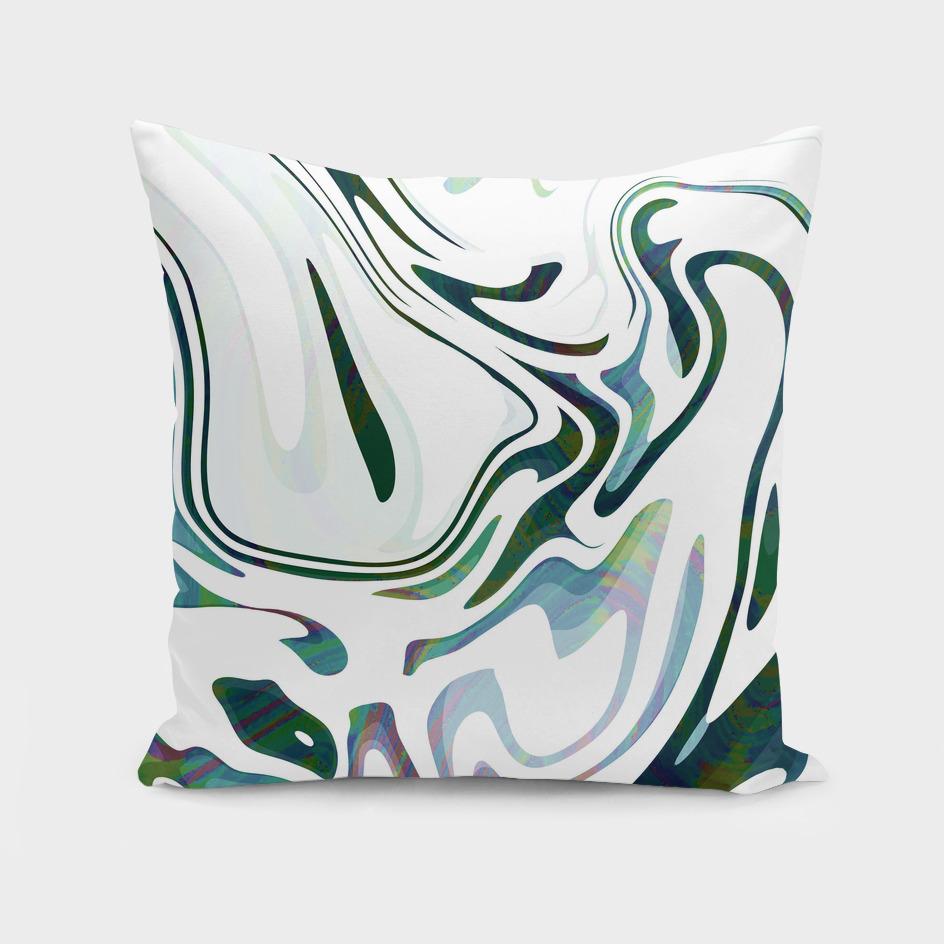 Greed Liquid Marbled Waves Design
