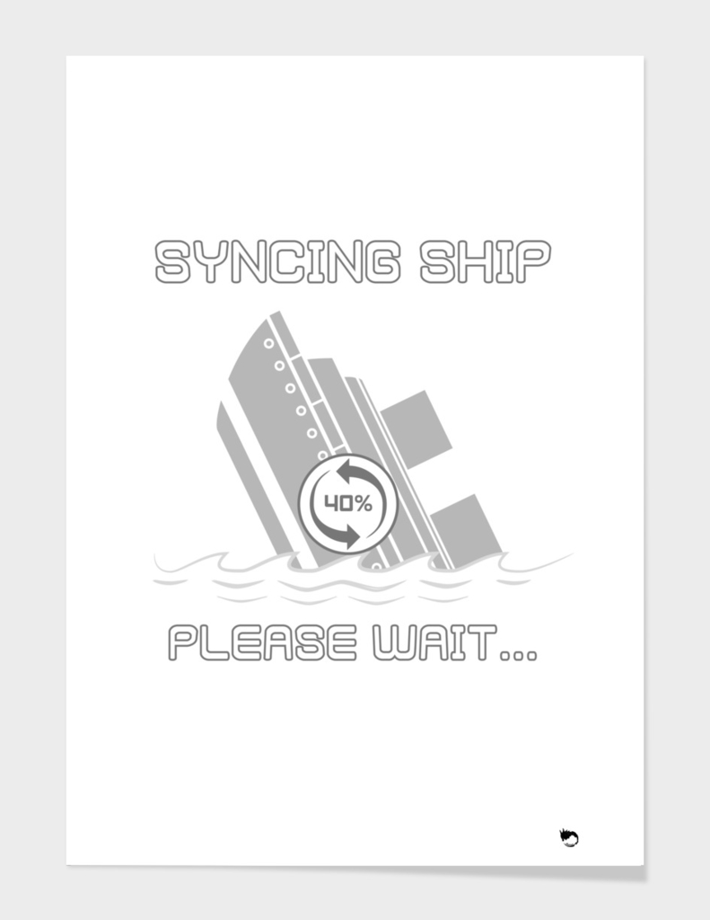 syncing ship