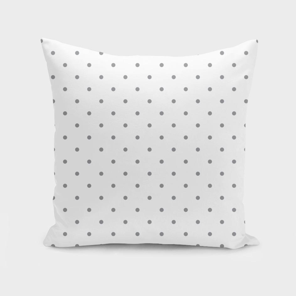 Small Grey Polka Dots Pattern
