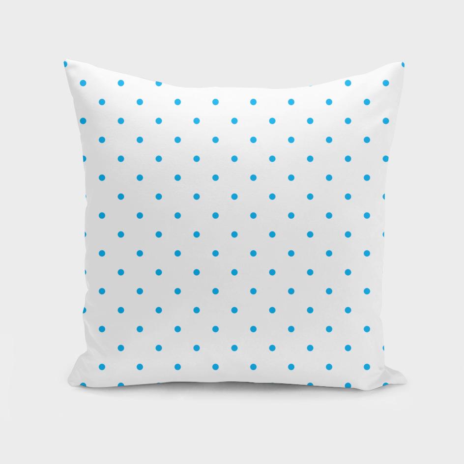 Small Blue Polka Dots Pattern