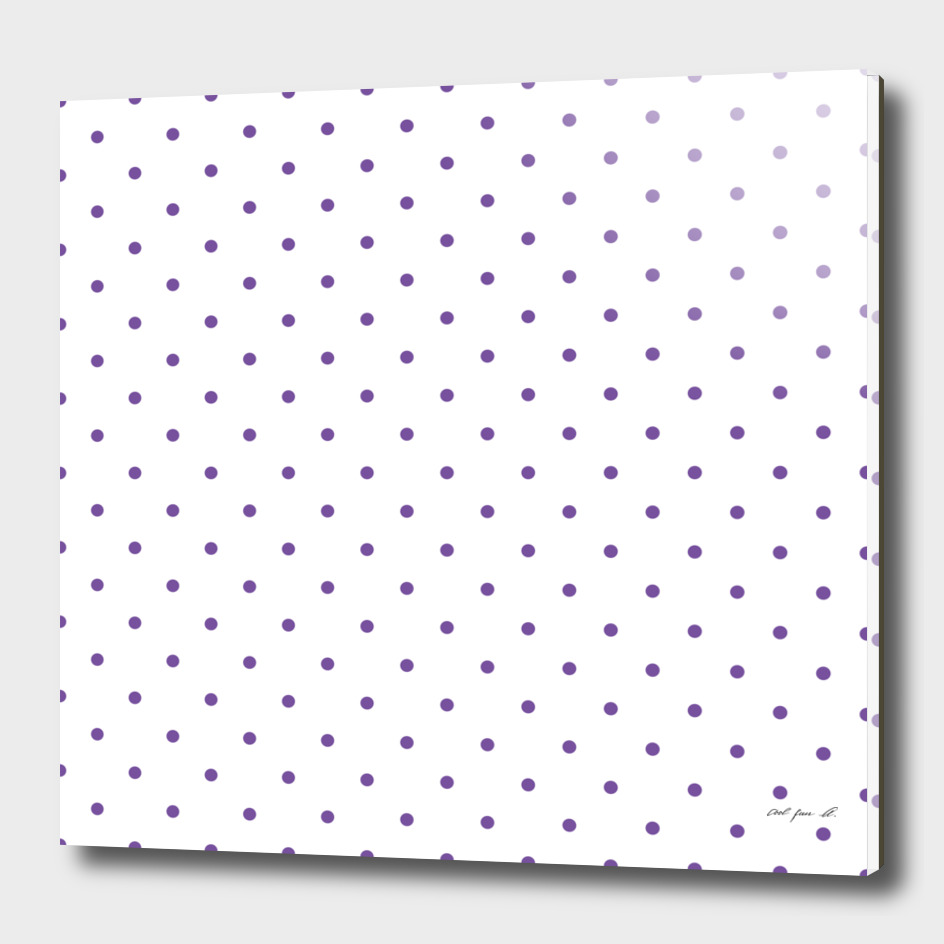 Small Purple Polka Dots Pattern