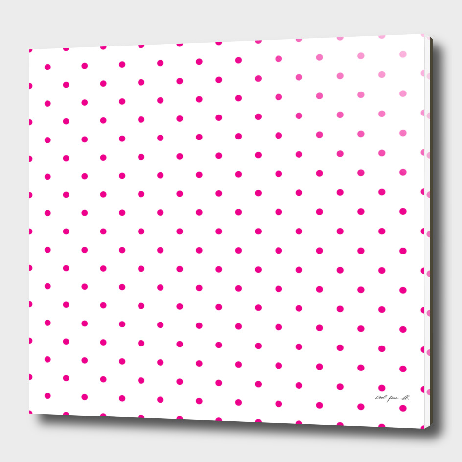 Small Pink Polka Dots Pattern