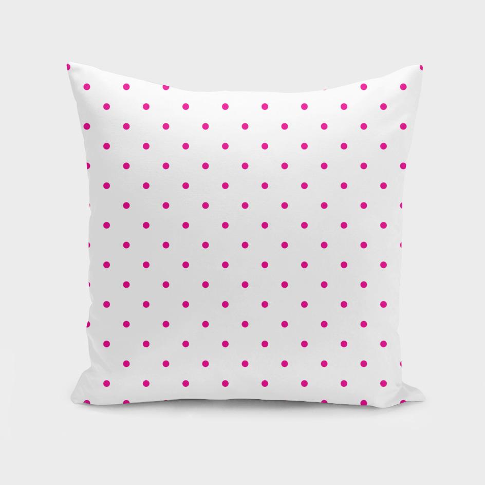 Small Pink Polka Dots Pattern