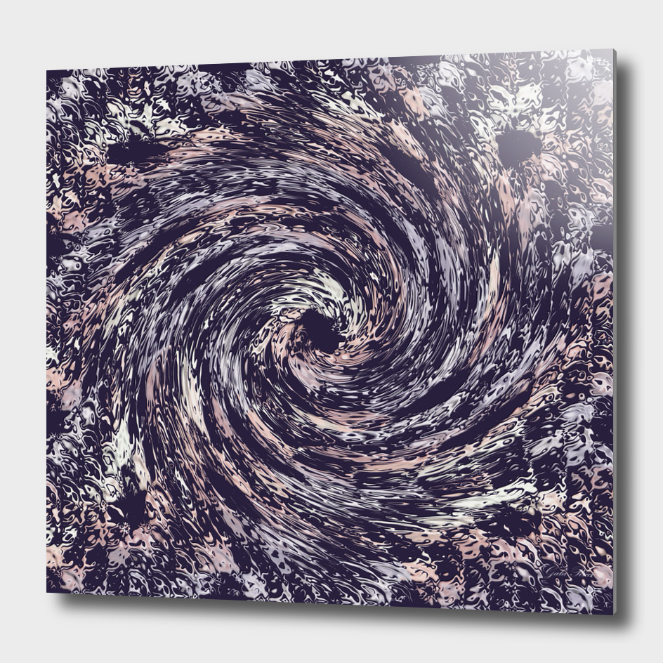 abstract spiral dynamic texture