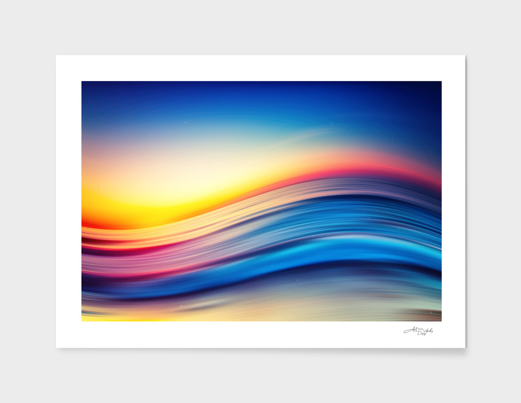 Abstract Sunset I