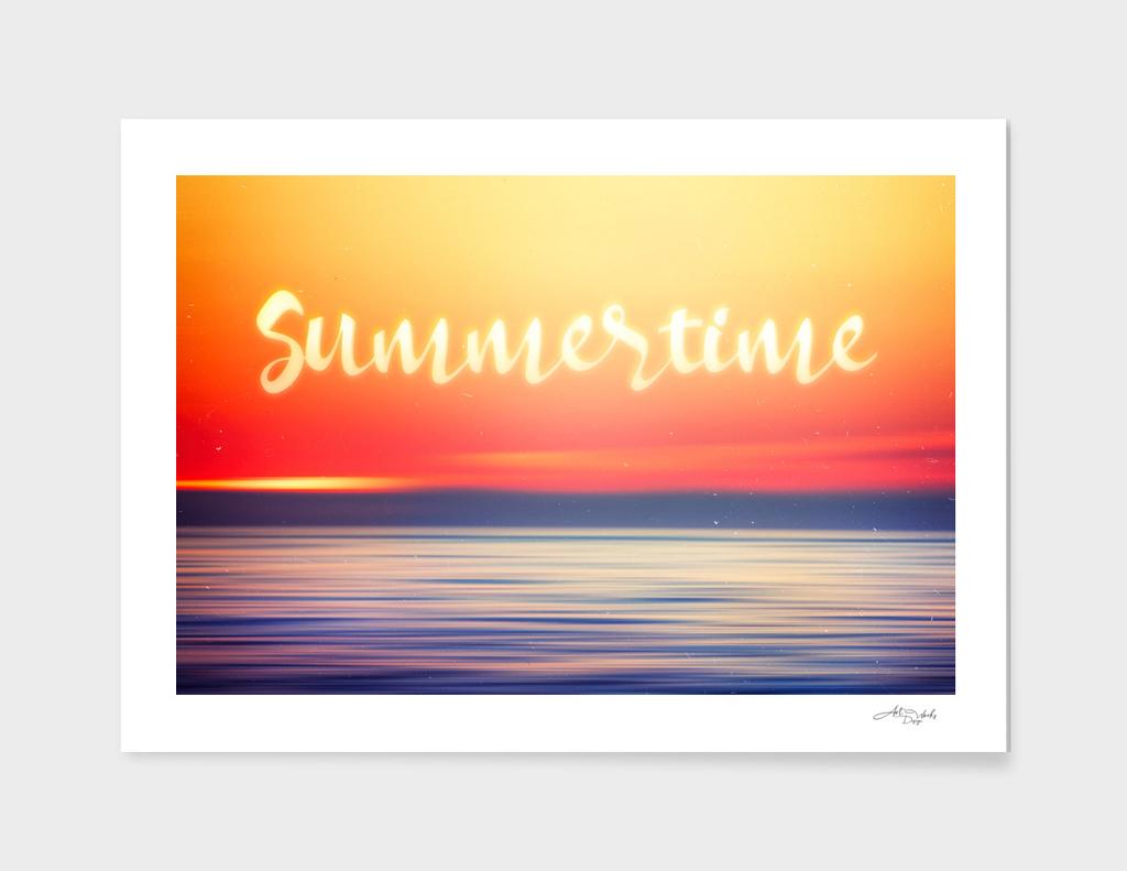 Abstract Sunset II
