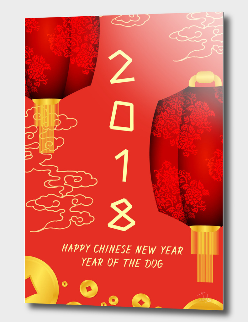 Chinese Lantern 2018 Lunar New Year