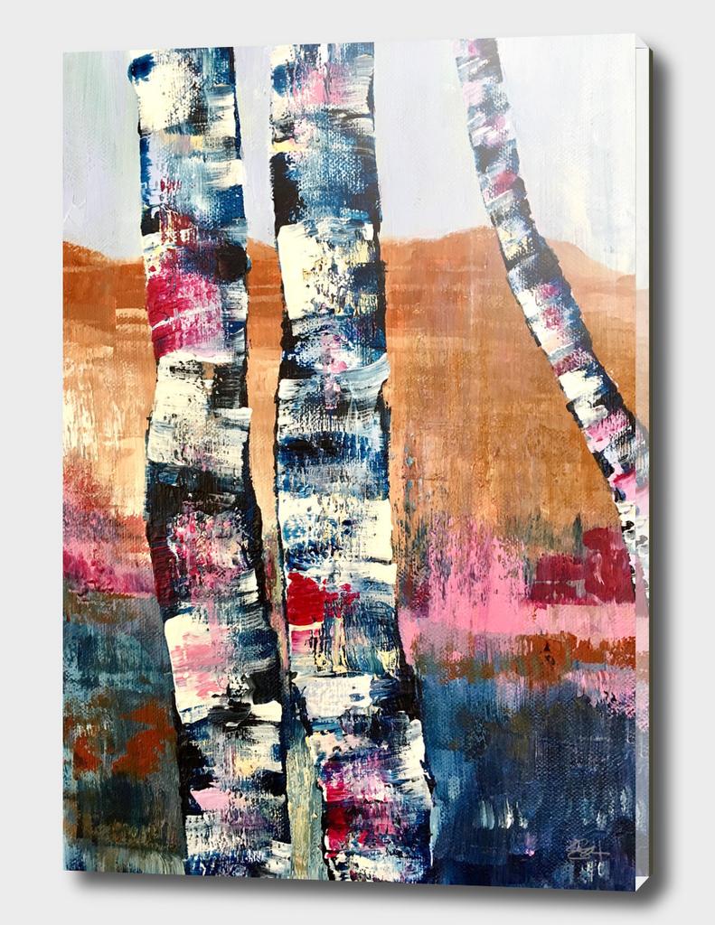 Charlottesville Birches