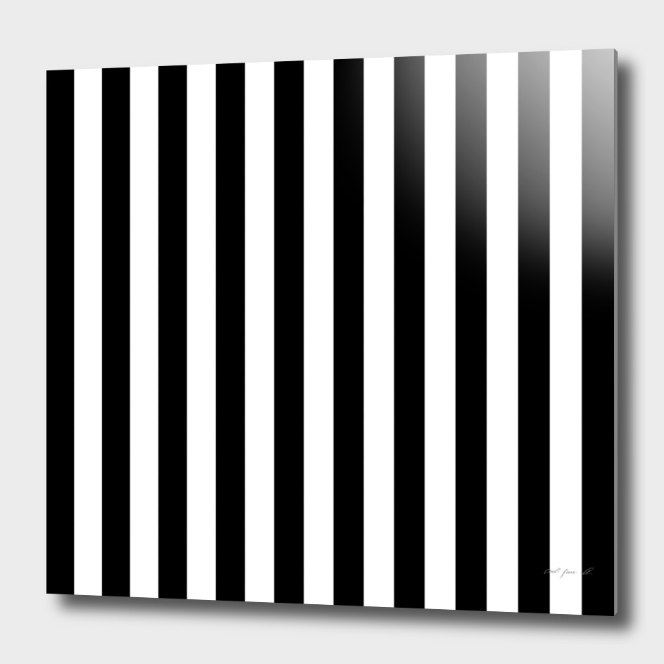 Vertical Black Stripes