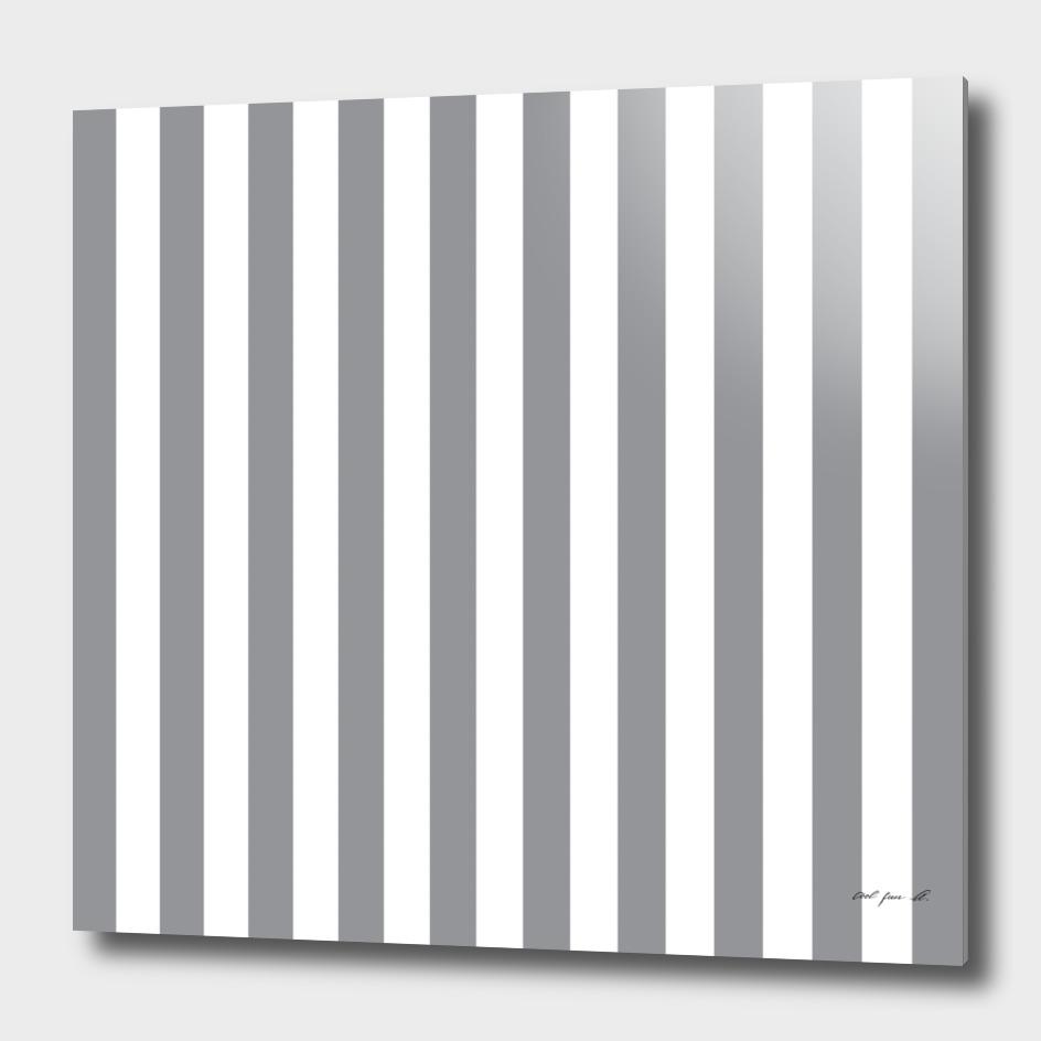 Vertical Grey Stripes