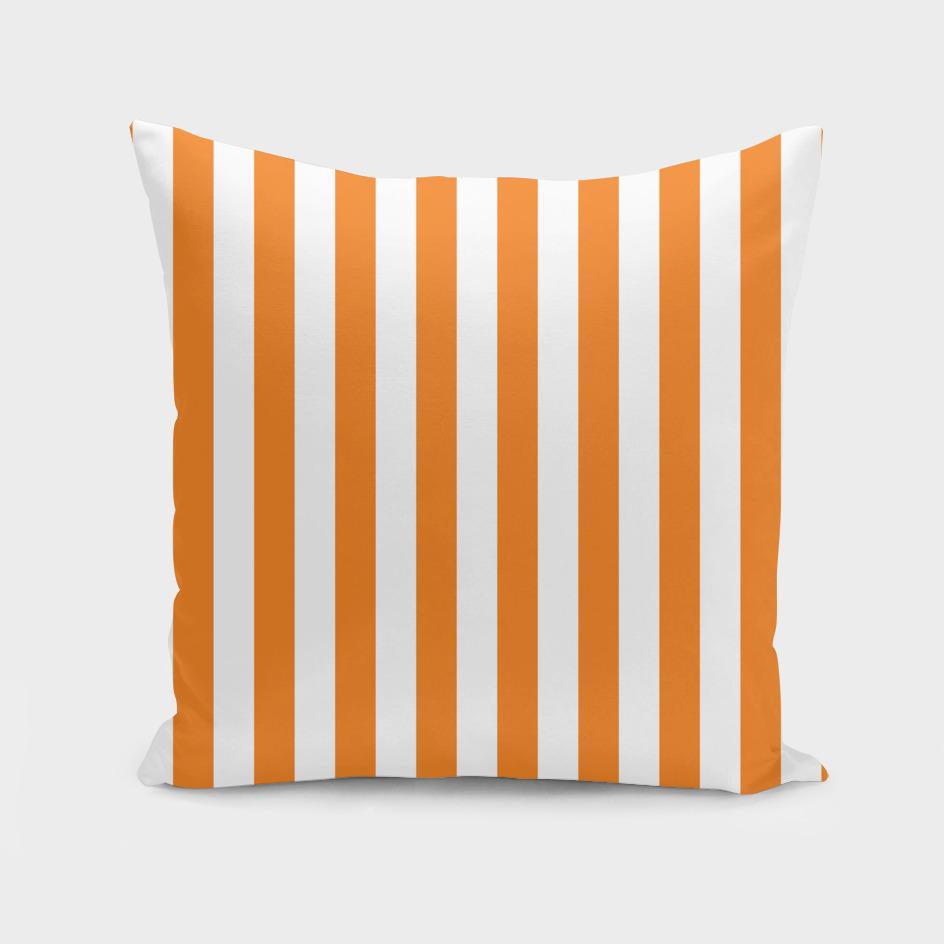 Vertical Orange Stripes