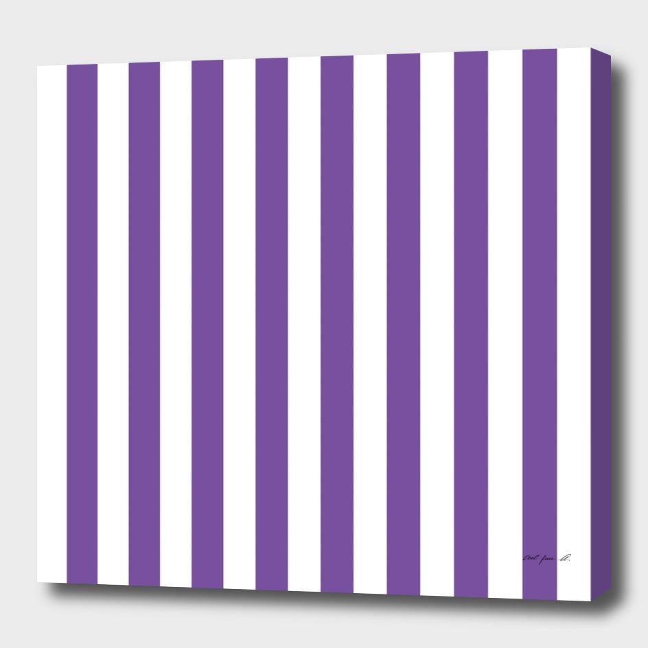 Vertical Purple Stripes