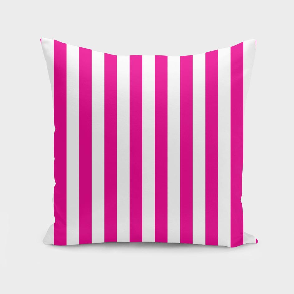 Vertical Pink Stripes