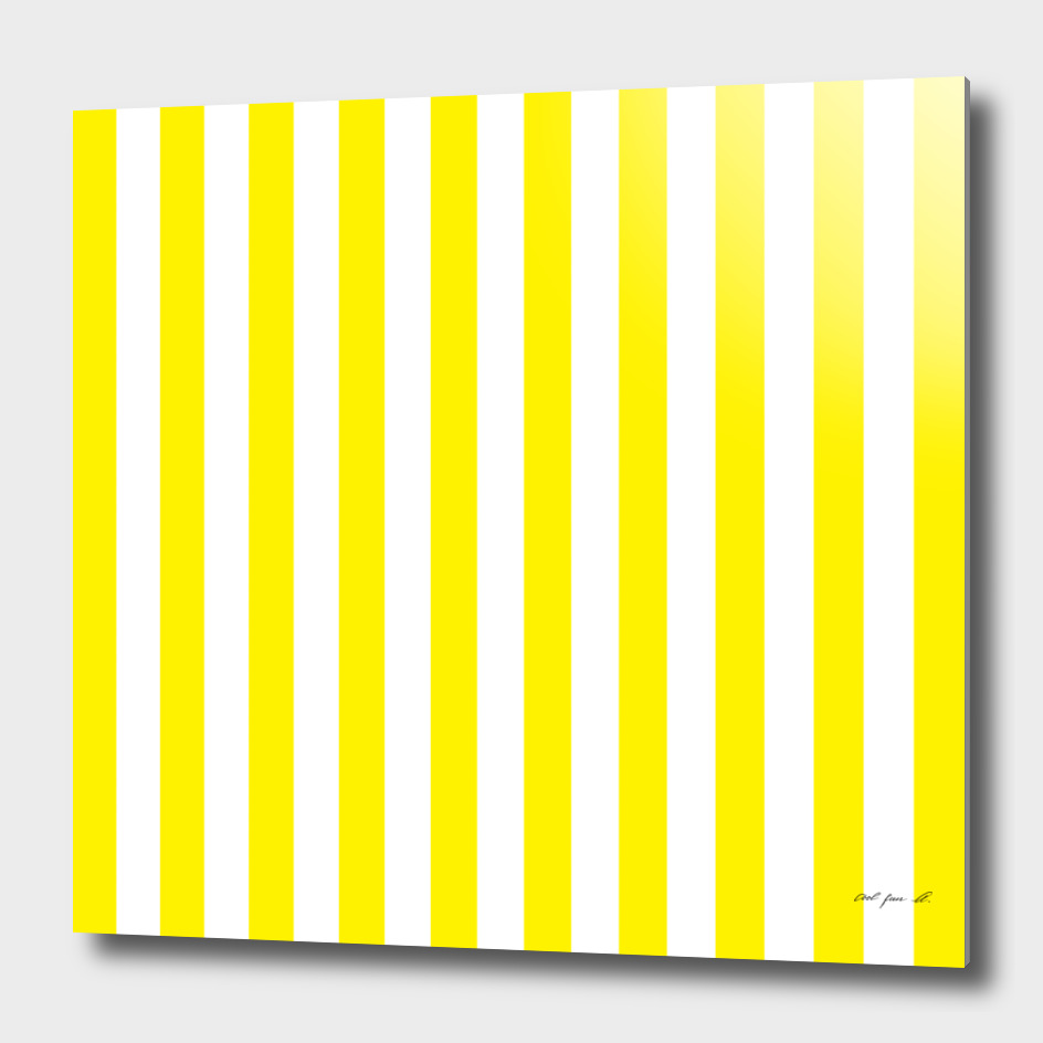 Vertical Yellow Stripes