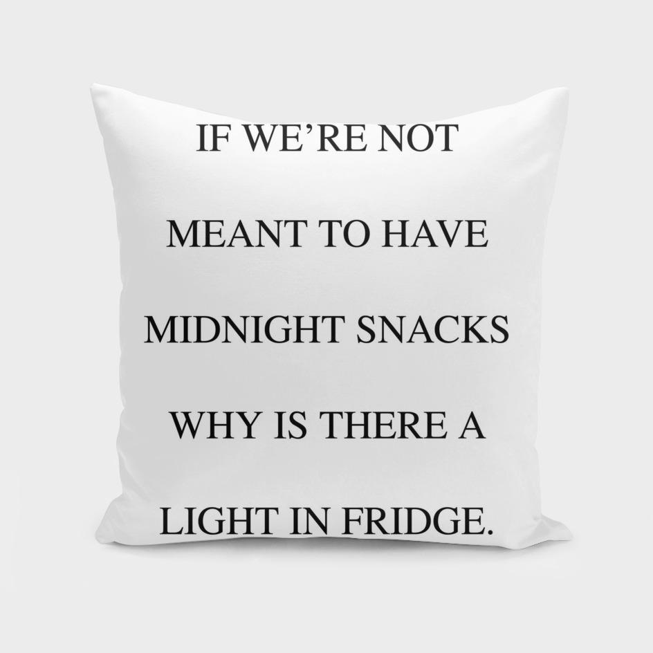 Midnight Snack White Edition