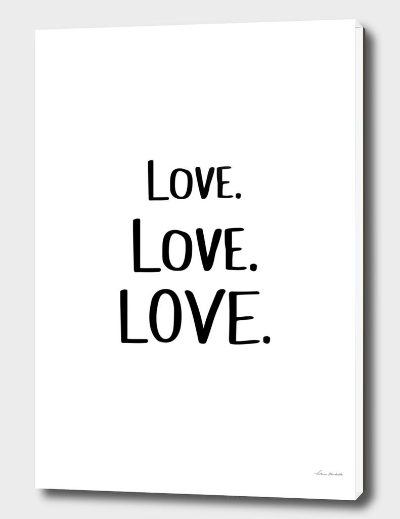 Love Love Love White Edition