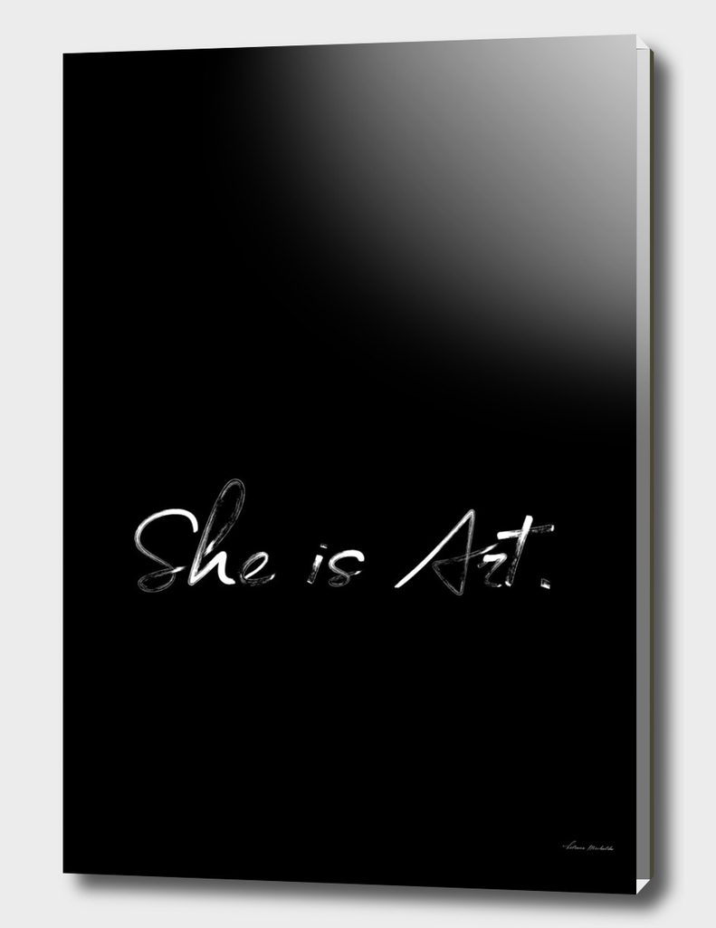 She is Art Black Edition