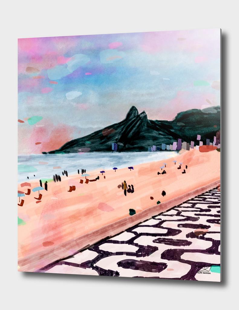 Rio Watercolors - Ipanema