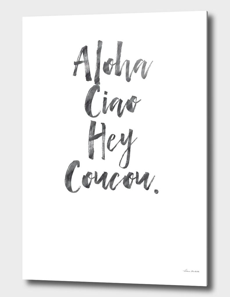 Aloha White Edition