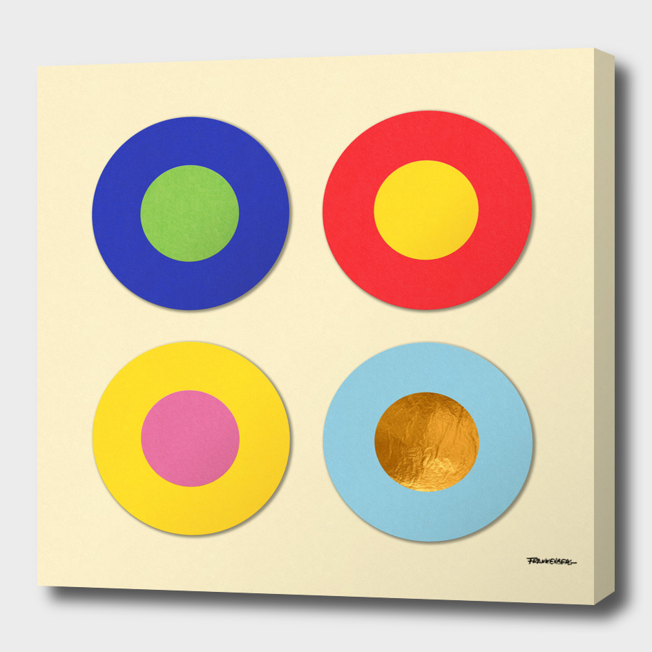 Four Dots & Gold