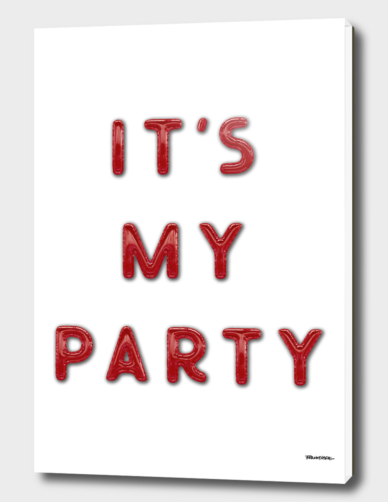 It's my Party – 1 - Text