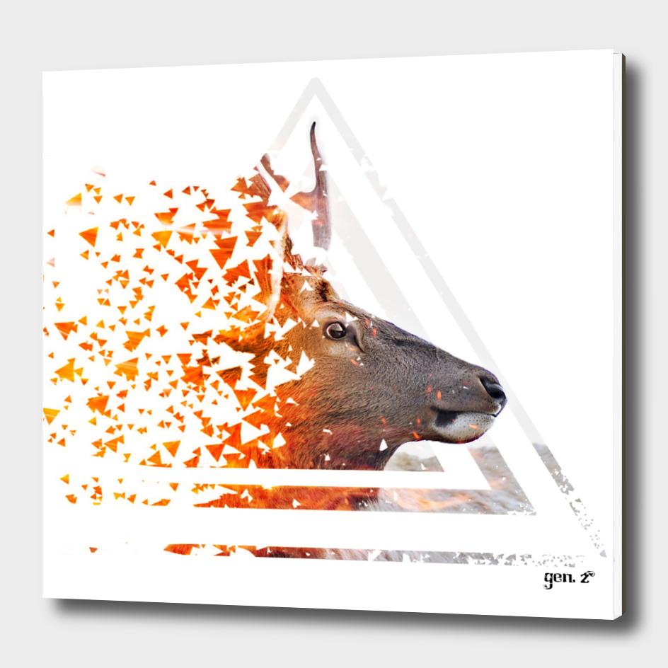 Caution Deer by GEN Z