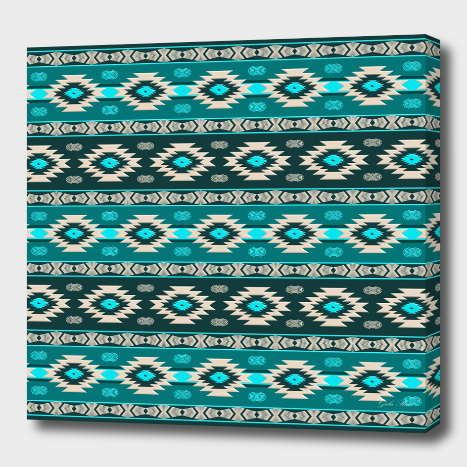 Soùthwestern ethnic navajo pattern