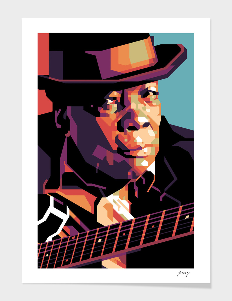 John Lee Hooker in WPAP
