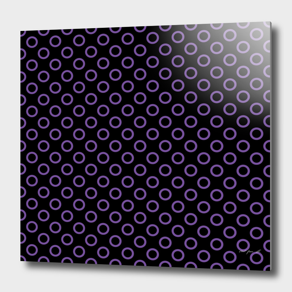 Purple Rings with Black Background