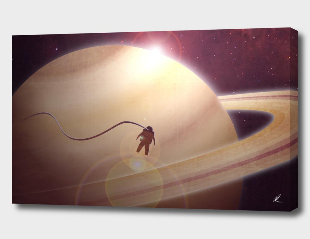 Sunrise From Saturn
