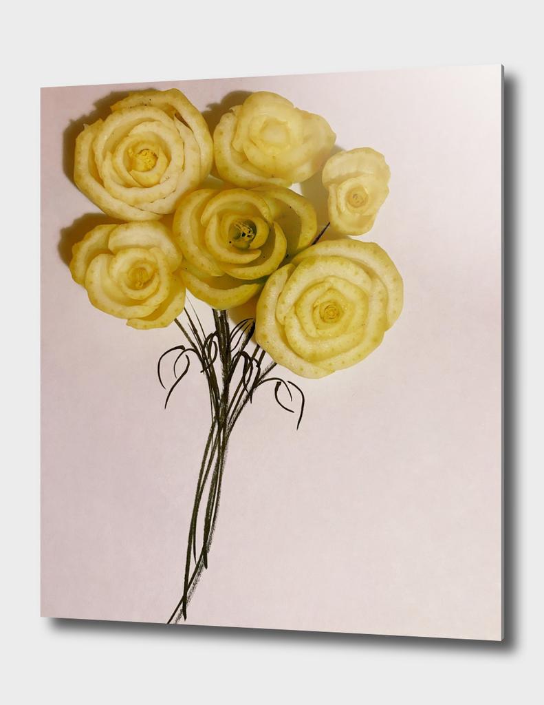 flowers - bokchoy